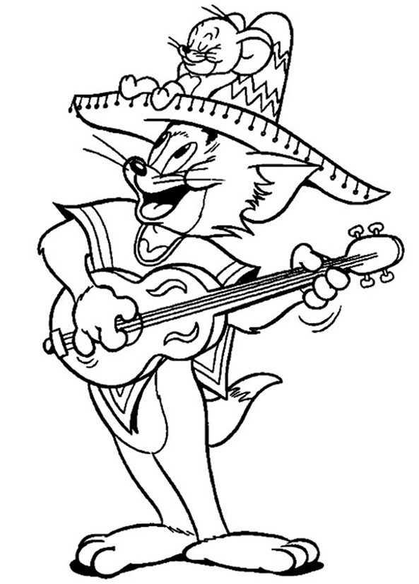 Tom Und Jerry 9 Ausmalbilder Kostenlos