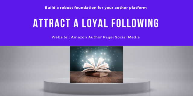 Build a robust foundation for your author platform