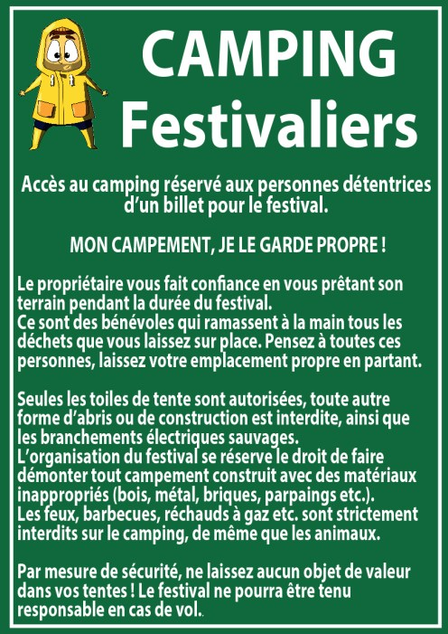 Réglement camping