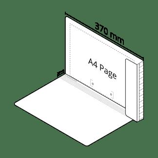 2D File White