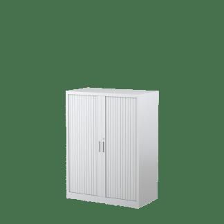 STEELCO Tambour Door Cabinet 1200H x 900W x 463D - 3 Shelves-WS