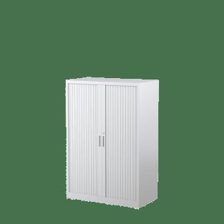 STEELCO Tambour Door Cabinet 1320H x 900W x 463D - 3 Shelves-WS