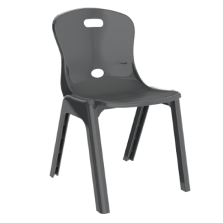 Eclipse Lynx Poly Chair - Slate 455h