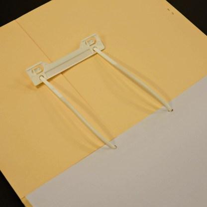 mediclip medical clip in file folder pressure plate slid up