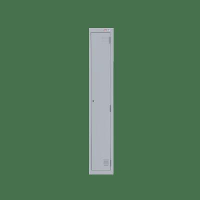 Ausfile Locker 1 Door 300mm Silver Grey Bank of 1 Single
