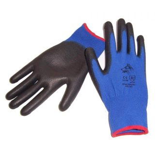 Stealth Blue Heeler PU Palm Glove