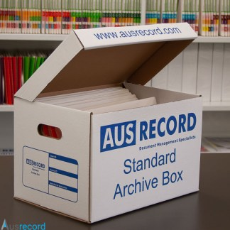 ausrecord standard archive box