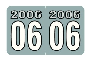 2006 Year Labels