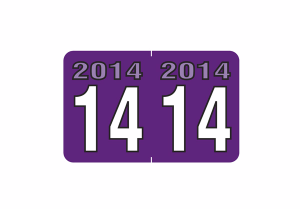 2014 Year Labels