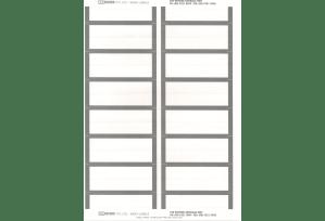 Ausrecord Index labels, Grey