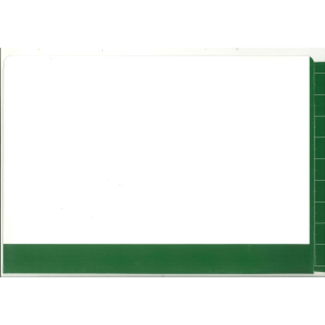 2d dark green colour flap and spine file