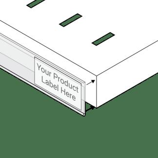 Adhesive data strips