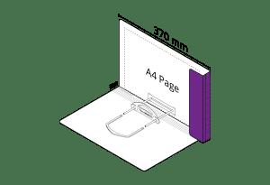 2D File Purple with LP Tube Clip
