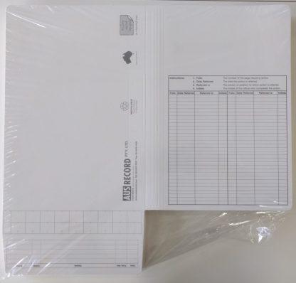 Standard Government template file - White