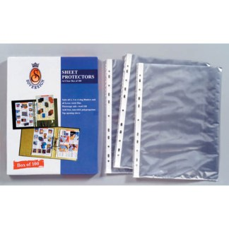 Plastic Sleeves & Sheet Protectors