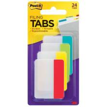 Post-it filing tabs