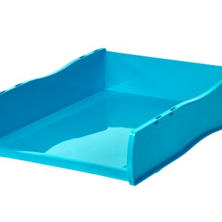 Document Tray (Cyan, Marine, Aqua)