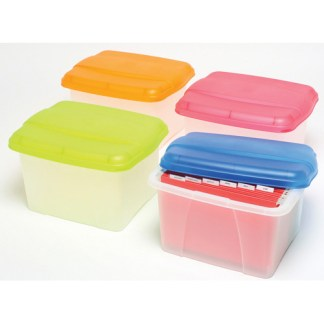 crystalfile carry case portabox 32l