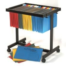 crystalfile filing trolley