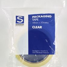 sovereign packaging tape clear 48mm x 50m
