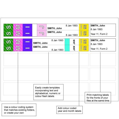Print C Ezi labels example uses