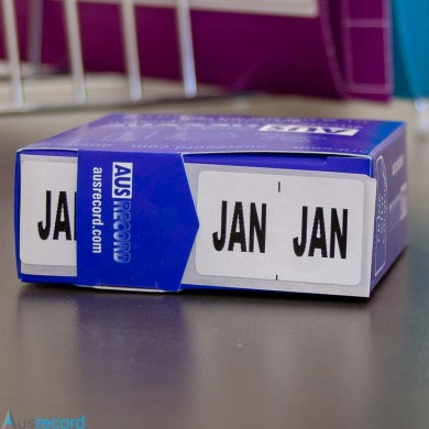 ausrecord january month index label