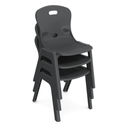 Eclipse Lynx Poly Chair - Stack of 3