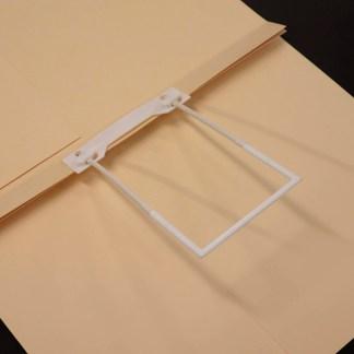 mediclip medical clip in file folder no paper