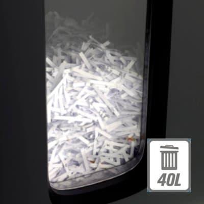 Rexel Auto+ 300M shredder 40L bin