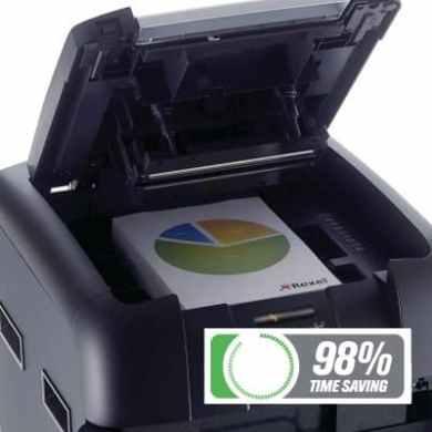 Rexel Auto+ 500M Micro Cut Shredder 98% time saving