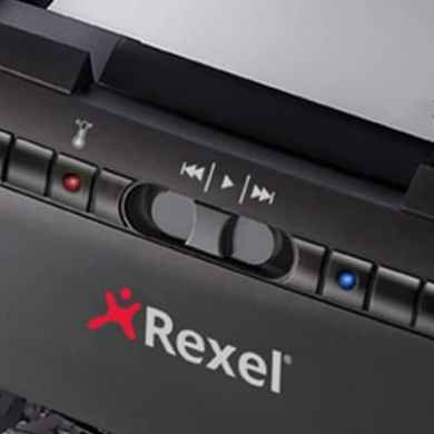 Rexel Auto+ 60X Shredder intuitive controls