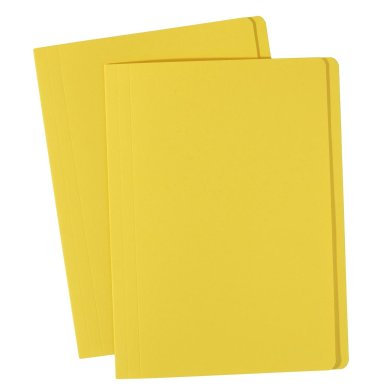 avery yellow manilla folder foolscap 81542