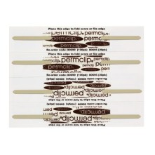 Avery 80699 PERMCLIP file fasteners Box of 100 white and brown