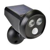 Deallink Solarbetriebene LED Außenleuchte mit Bewegungsmelder, Kabellos, Wasserdicht Wandleuchte Scheinwerfer, perfekt als Sicherheitsbeleuchtung für Garten, Lagerhallen, Einfahrt, Terrasse usw. - 1