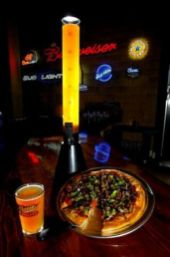 Beer Tube & Pizza