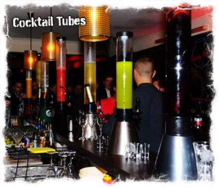 Various Cocktail Tubes