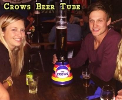 Crows Beer Tube