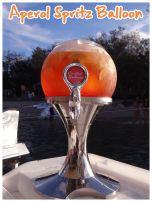 Aperol Spritz Balloon