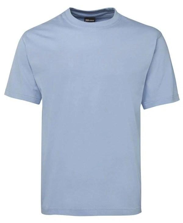 Round Neck T Shirts - Sky Blue