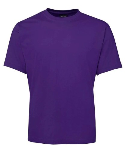 Round Neck T Shirts - Purple