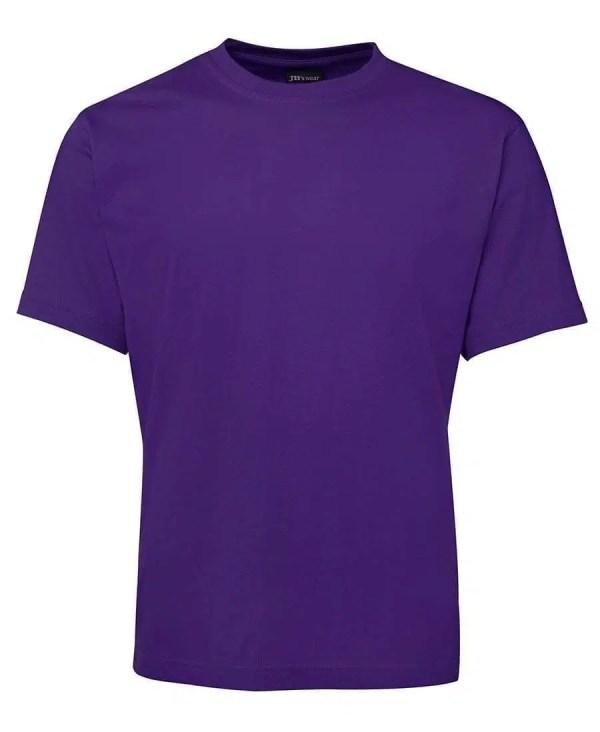 Round Neck T Shirts - Purple