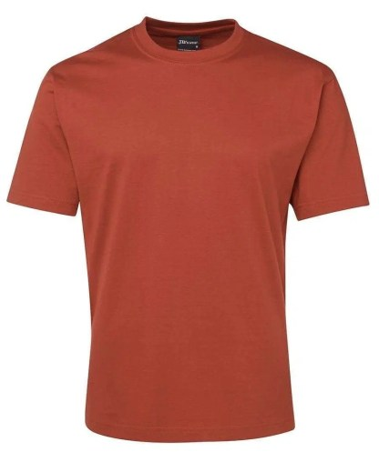 Round Neck T Shirts - Ochre
