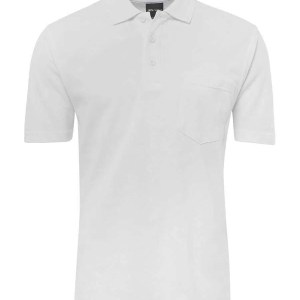 Pocket Polo - White