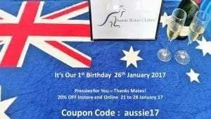 Australia Day 2017 Birthday Sale