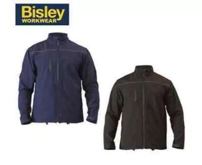 Soft Shell Jacket Black & Blue
