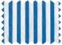 Fine Cotton - Blue White Swatch