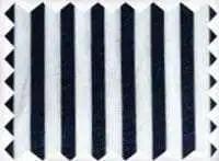 Fine Cotton - Navy White Swatch