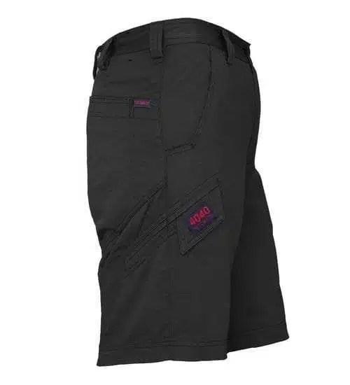 Ritemate Light Cargo Shorts - Black