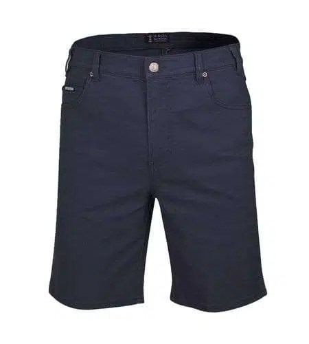 Pilbara Cotton Jean Shorts - Ink Navy