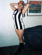 Tania Herman posing